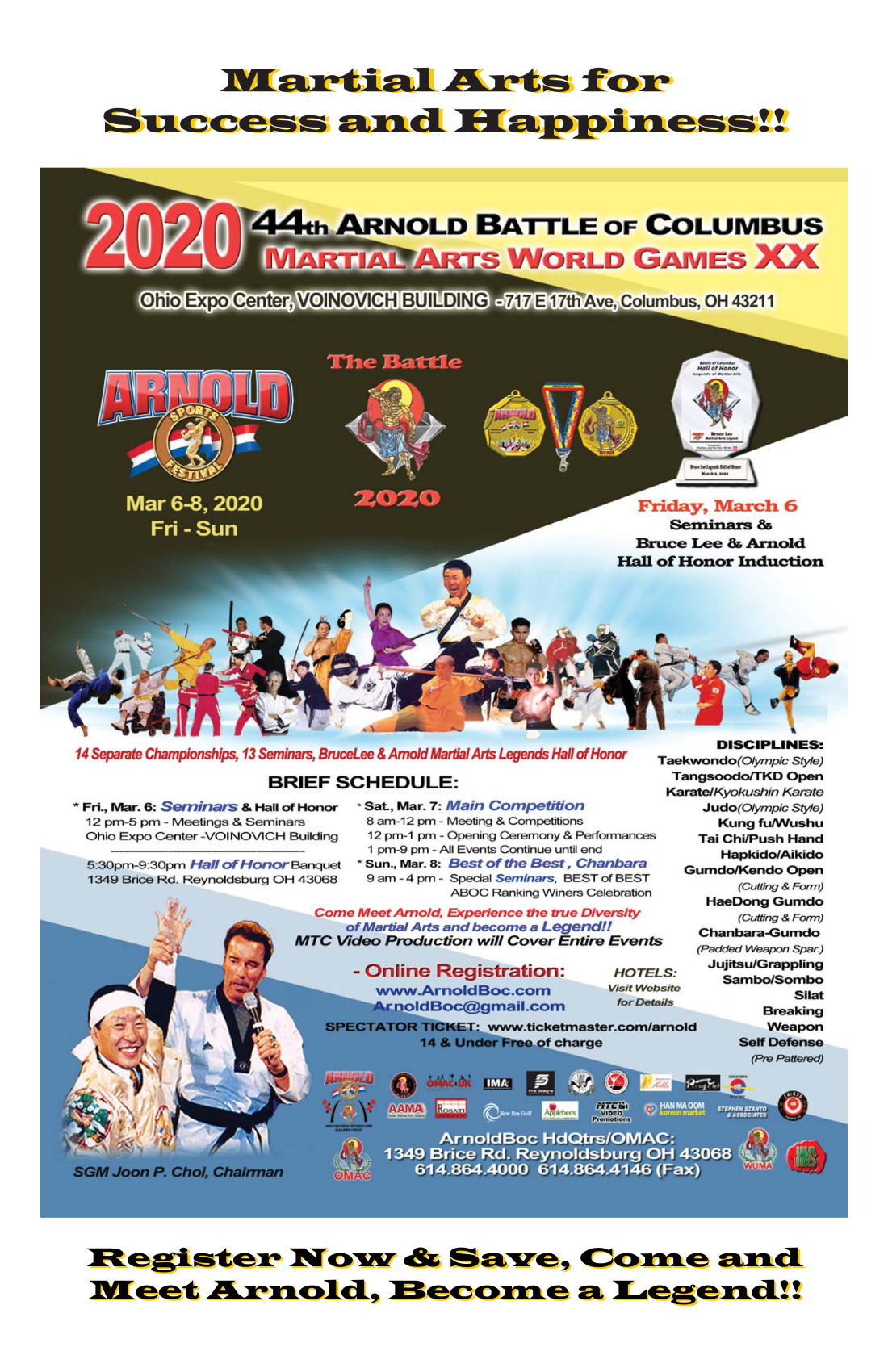 General ABOC 2020 Event Poster